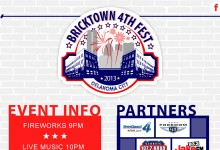 Website Design and Build: Bricktown 4th Fest