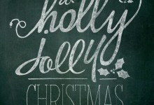 Holly Jolly Christmas (Chalk)