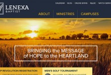 Website Design and Build: Lenexa Baptist